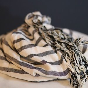 Madewell Striped Scarf